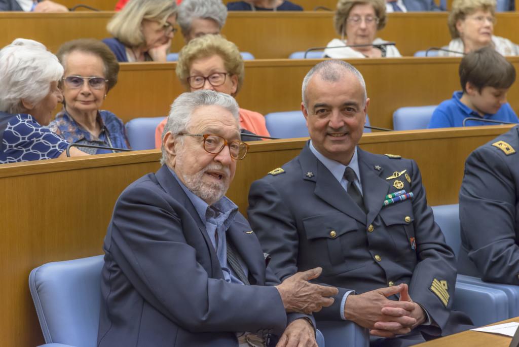 Marcello Forti e Ufficiale Genio Aeronautico