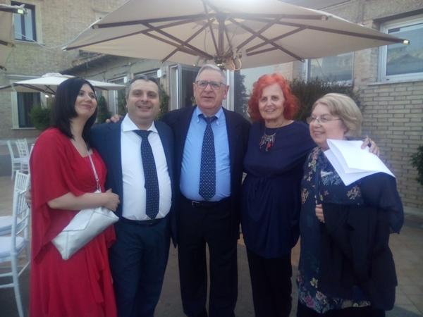 La famiglia Moras e Mariella Grassi