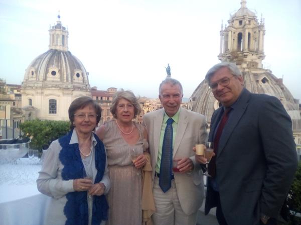 Renata Sciortino, Teresa e Santino Caviglia, Marco Pagan