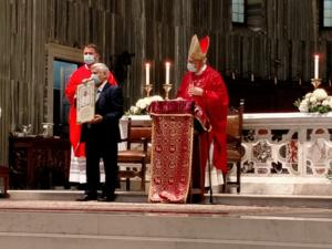 15 Benedizione Papale ai GNM dono della nostra Associazione