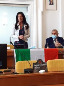 19 Sindaca di Monfalcone Anna Maria Cisint e Franco Miniussi Presidente GNM